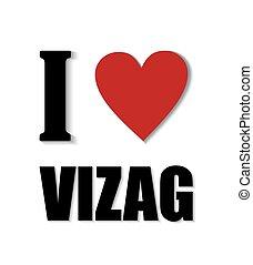 我, 愛, vizag