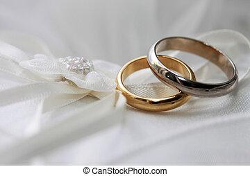 戒指, 婚禮
