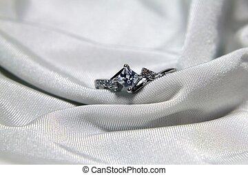 戒指, 鑽石
