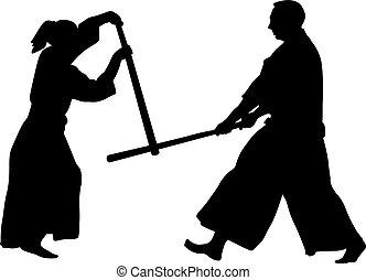 戦争である, aikido, 芸術