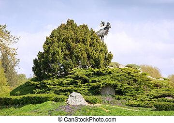 戦争, ニューファンドランド, 記念, フランス