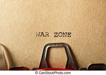 戦争, 地域, テキスト