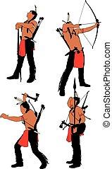 戦士, 勇士, indian