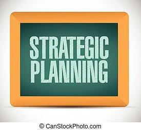戦略上の計画, イラスト, 印