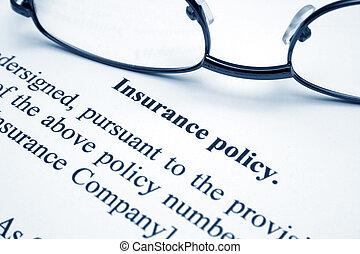 戦略, 保険