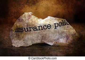戦略, 概念, 屑, 保険
