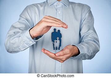 戦略, 生命保険, 家族