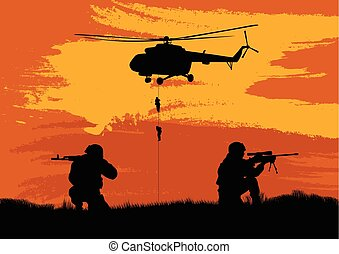 戦闘, 兵士, パフォーマンス, mission..eps
