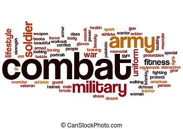戦闘, 単語, 雲, 概念