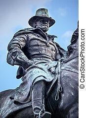 戰爭, 我們, 小山, 華盛頓, 民用, dc, 雕像, 州議會大廈, 應承, 紀念館
