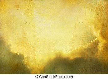 戲劇性的天空, 背景