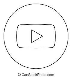 戲劇顏色, 按鈕, 黑色的圓, 輪, 圖象
