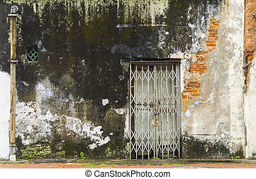 戸口, 古代, 閉じられた, 忘れられた