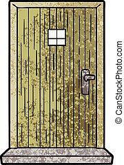 戸口, 漫画