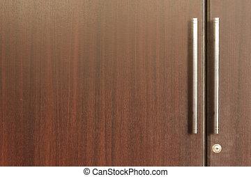 戸棚, ドア