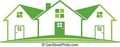房产, 房子, 标识语