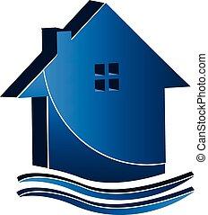 房地产商业, 房子, 标识语