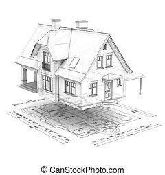 房子, 以及, 計劃