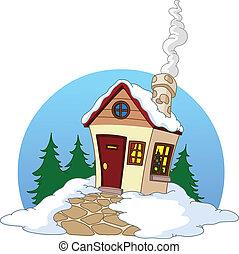 房子, 冬天