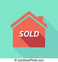 房子, 出售, 遮蔽, 长期, 正文