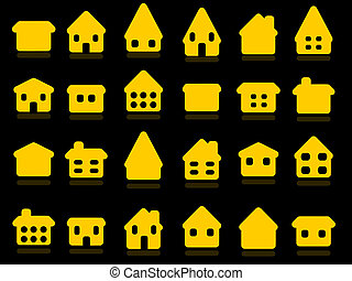 房子, 图标