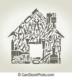 房子, 工具