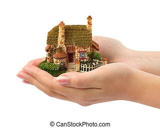 房子, 手
