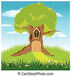 房子, 树