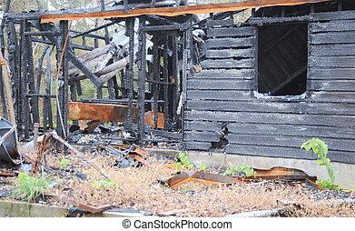 房子, 火