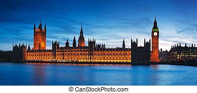房子, ......的, parliament., 倫敦