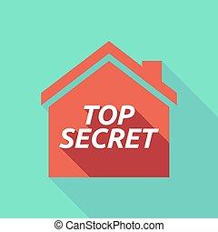 房子, 秘密, 正文, 遮蔽, 长期, 顶端
