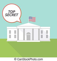 房子, 秘密, 白色, 正文, 顶端