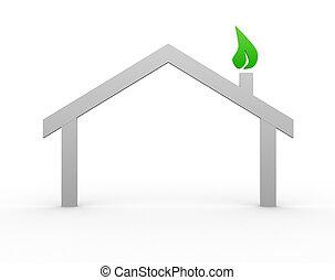 房子, 符號