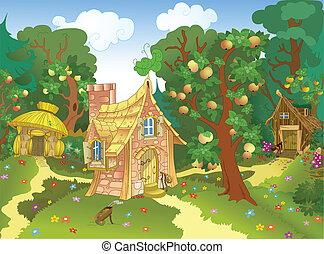 房子, 美妙, 三