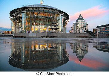 房子, 莫斯科, 音樂