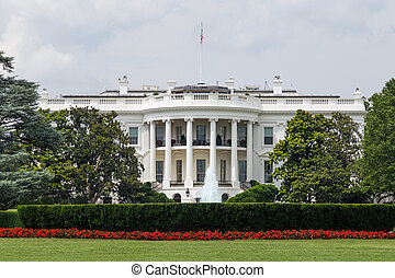 房子, 華盛頓, dc, 白色
