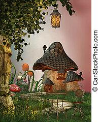 房子, 蘑菇