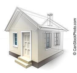 房子, 設計, 略述