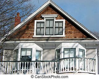 房子, 陽台