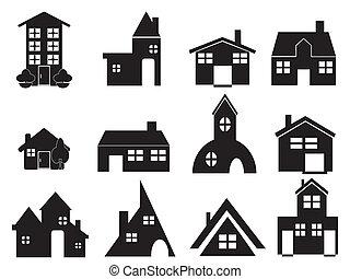 房子, 集合, 圖象