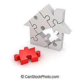 房子, 難題, 部分, 決賽