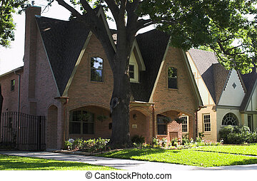 房子, pitched, 屋頂