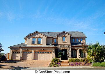 房子, upscale, 加利福尼亞