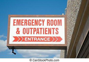 房間, 緊急事件