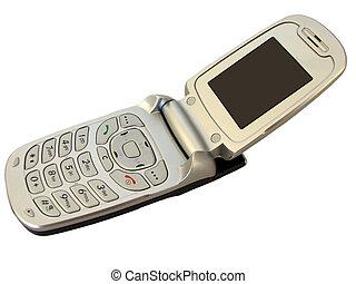 所有するため, ブランド, -, 携帯電話, 開いた, あなたの