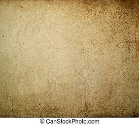 手ざわり, あなたの, 壁, -, 偉人, ブラウン, grungy, デザイン