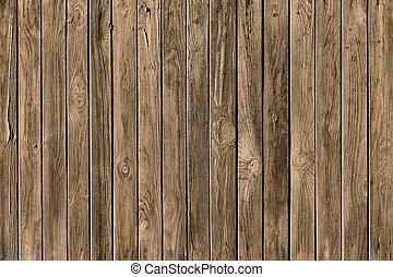 手ざわり, の, 木製の板