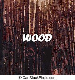 手ざわり, 抽象的, 木, 背景, ベクトル