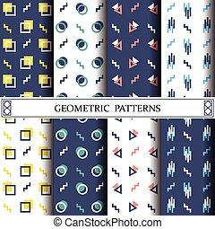 手ざわり, 網, 背景, いっぱいになる, ベクトル, パターン, 幾何学的, ページ