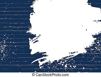 手ざわり, 青, 木, 点, 白, ベクトル, 背景, paint.